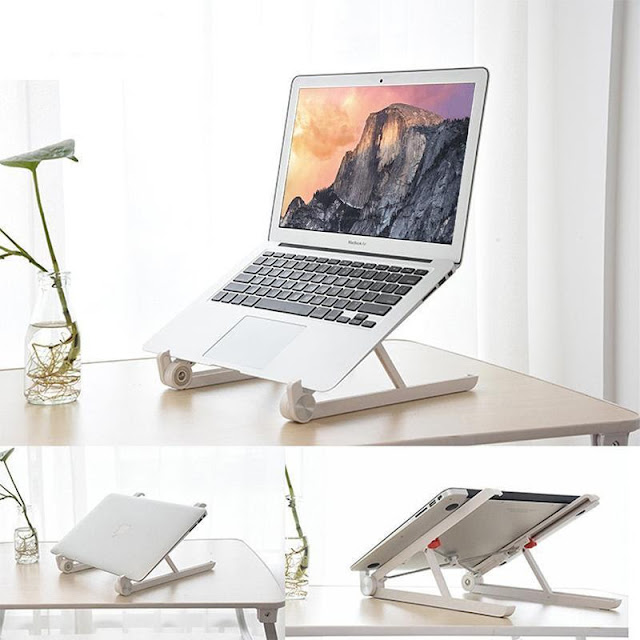 Laptop Adjustable Folding Desktop Stand