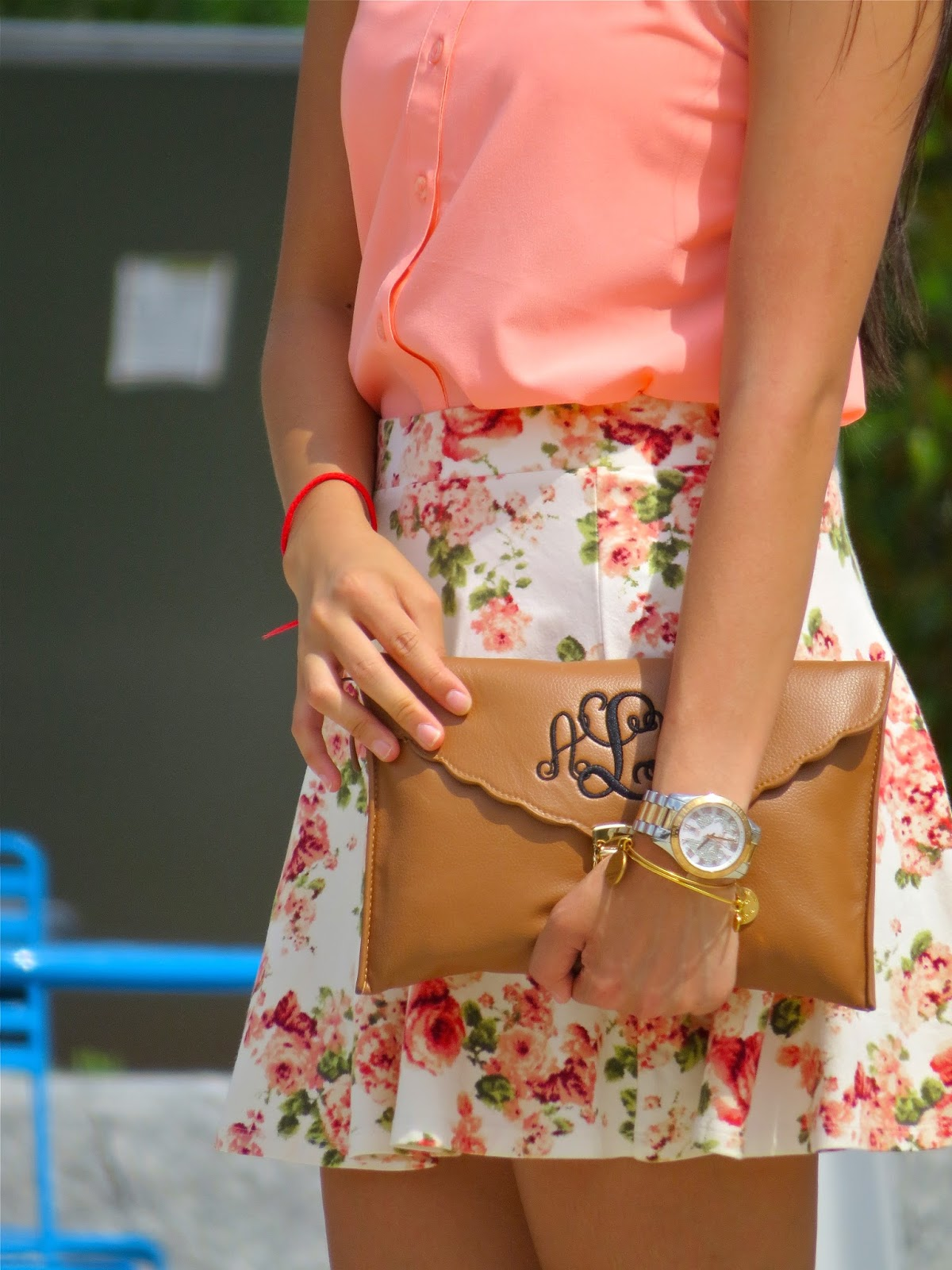 The best monogram clutch