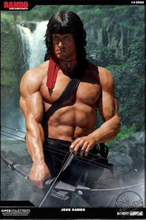 Pop Culture Shock Collectibles' RAMBO 1:3 Scale Statue