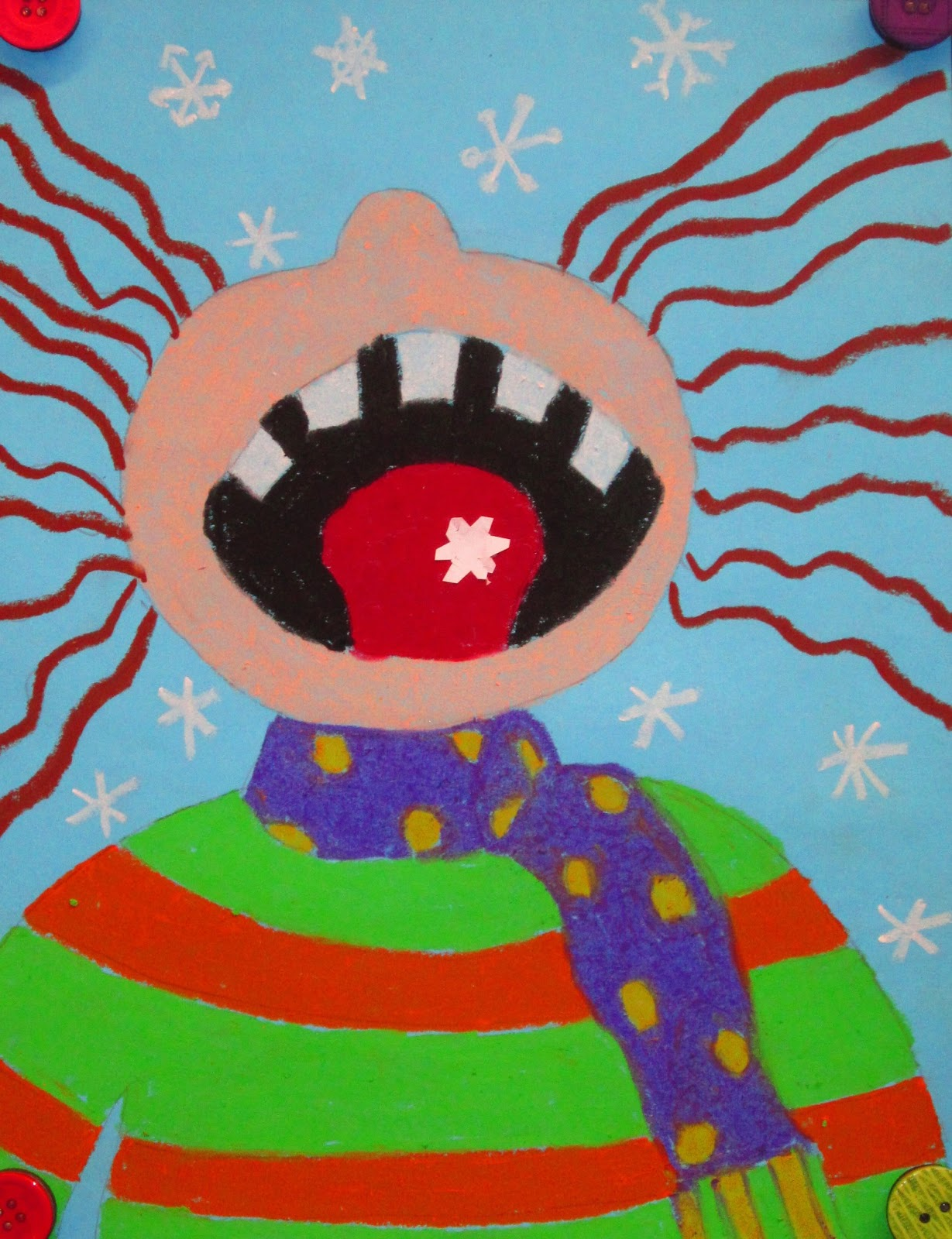 Friday Art Feature - Catching Snowflakes | RUNDE'S ROOM