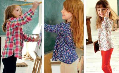 El Corte Inglés pantalones camisas niña