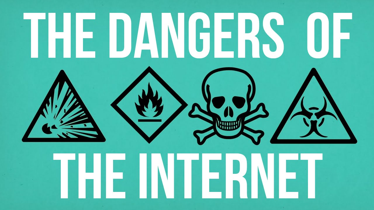 The Dangers of the Internet [video]