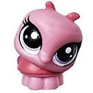 Littlest Pet Shop Series 1 Teensie Pets Lorina Ladybuggy (#1-92) Pet