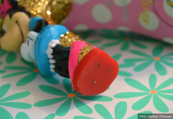 minnie mouse character heel tip