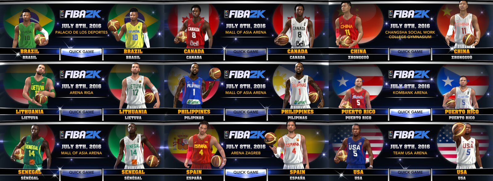 2014 Team Nba Rosters 2015