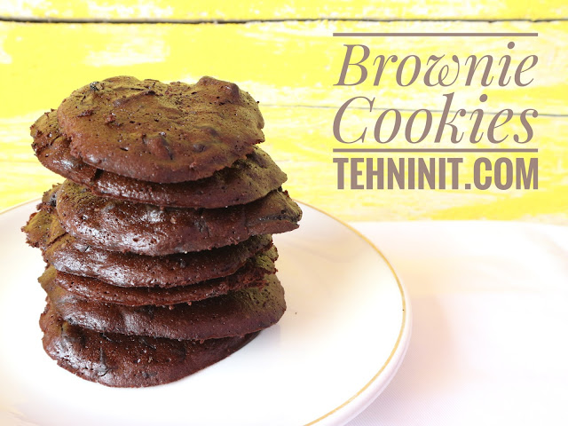 Resep Brownie Cookie
