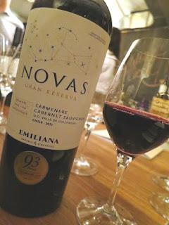Emiliana Novas Gran Reserva Carménère/Cabernet Sauvignon 2013 - Colchagua Valley, Chile (88 pts)