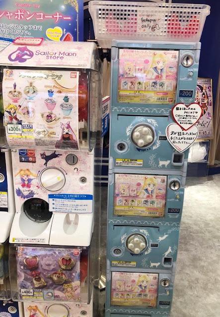 visite de la boutique Sailor Moon à Tokyo
