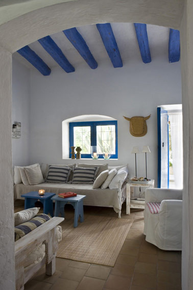 Idehadas interior design casa en formentera for Casa interior design