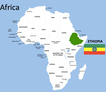 Etyopya Dünyanın Neresinde