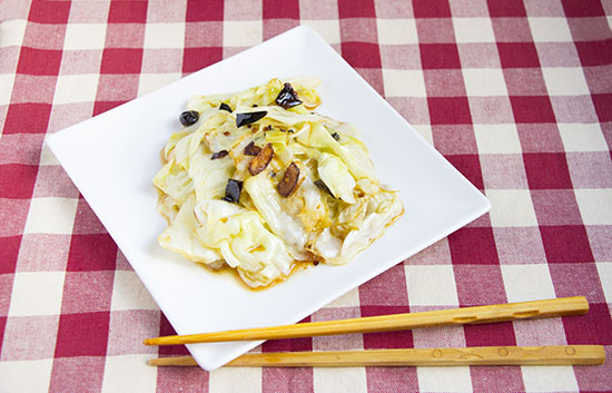 Chinese food - Sour and sweet cabbage