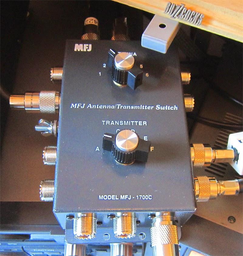 EI8KF - An occasional amateur radio blog: MFJ-1700C antenna