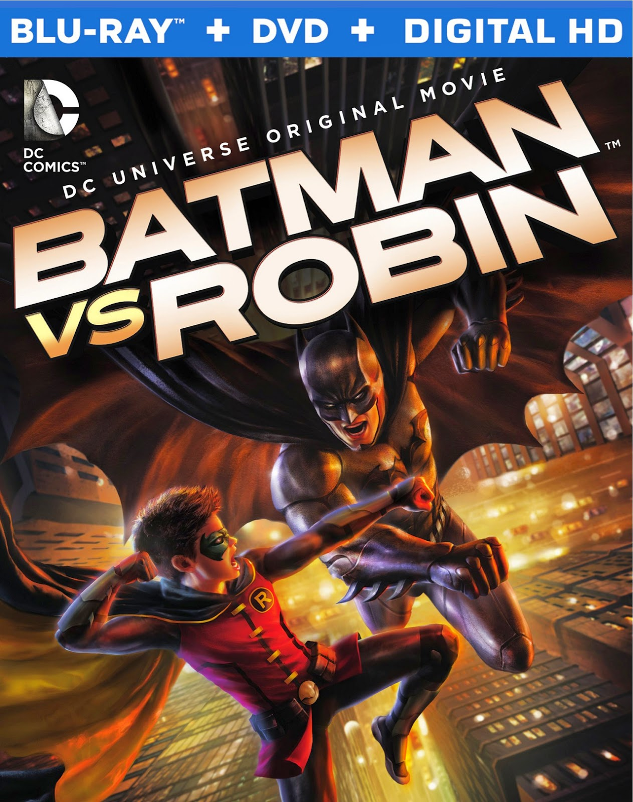 Batman vs Robin (2015) 1080p BD25 Cover Caratula