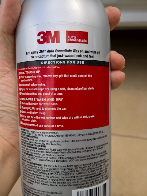 3M Auto Essentials Wax