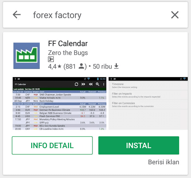 Forex factory android