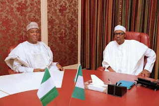 News: What Saraki said after meeting with Buhari