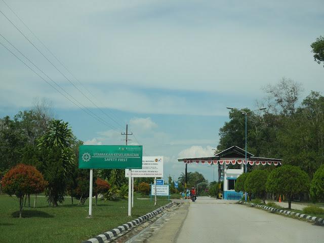 akses masuk Taman Nasional Zamrud