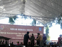 Nafsir Fauzi, SH Membuka Festival Karawitan Tingkat Kabupaten