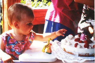 An meinem 1. Geburtstag