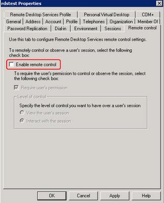 remote desktop error code 7431