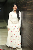 Megha Akash in beautiful White Anarkali Dress at Pre release function of Movie LIE ~ Celebrities Galleries 056.JPG