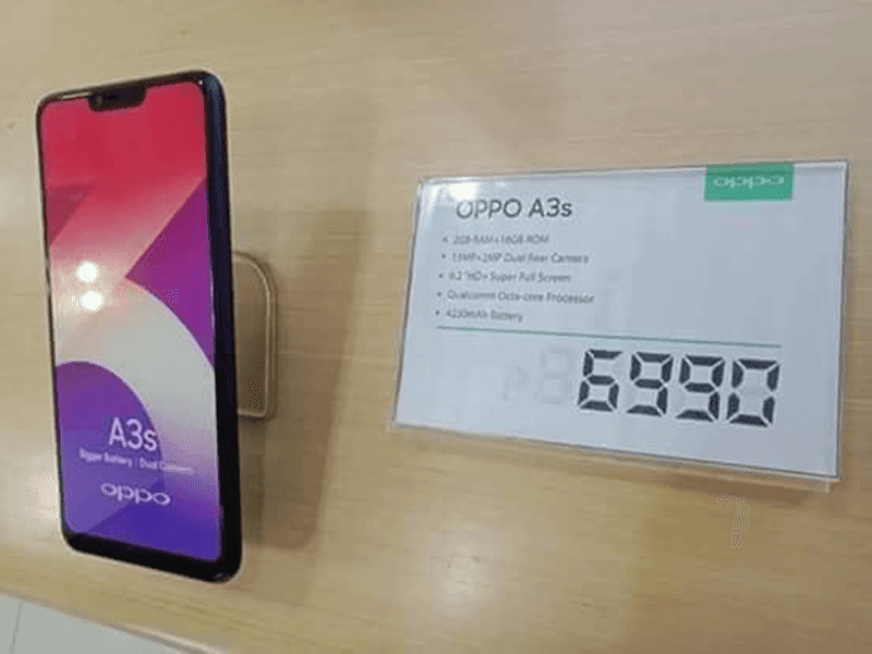 OPPO A3 is priced at just PHP 6,990?
