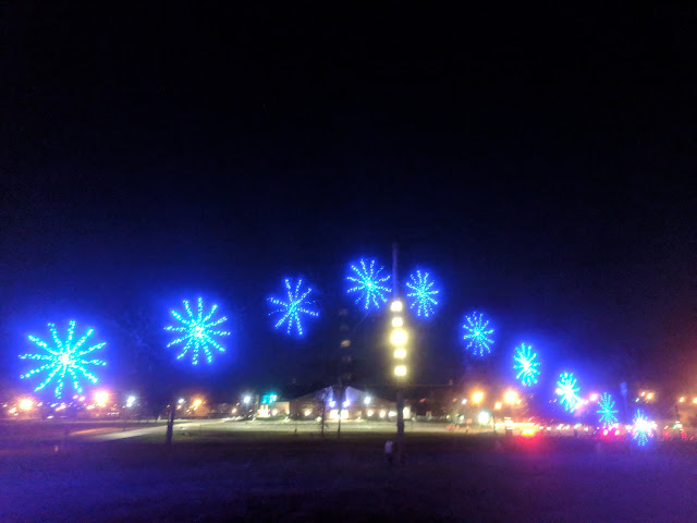 The Dancing Lights Of Christmas At It S New Location