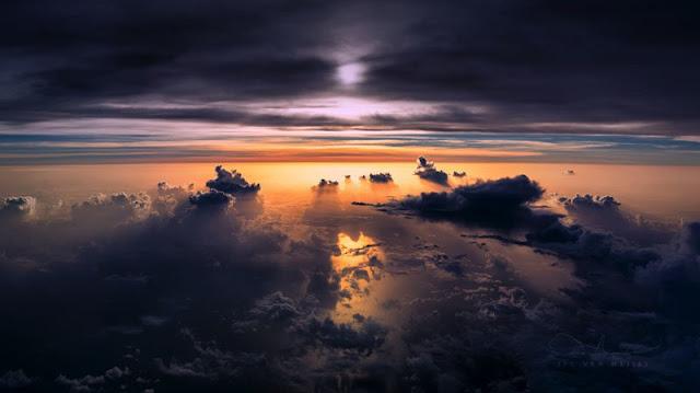 Increíbles fotografías del piloto de un Boeing 747