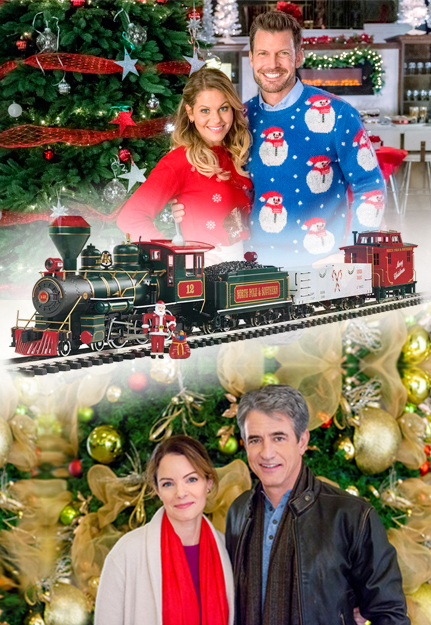 the bachmann trains night before christmas ready to run large scale train set - The Christmas Train
