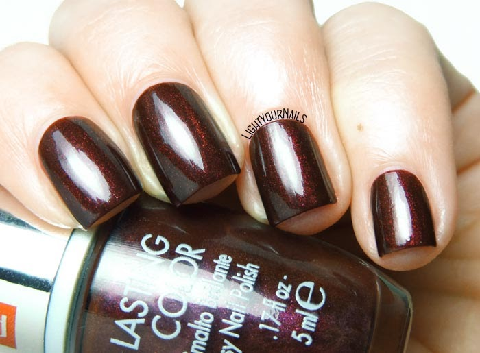 Smalto rosso scuro Pupa 609 vampy red nail polish #unghie #pupa #pupamilano #nails #lightyournails