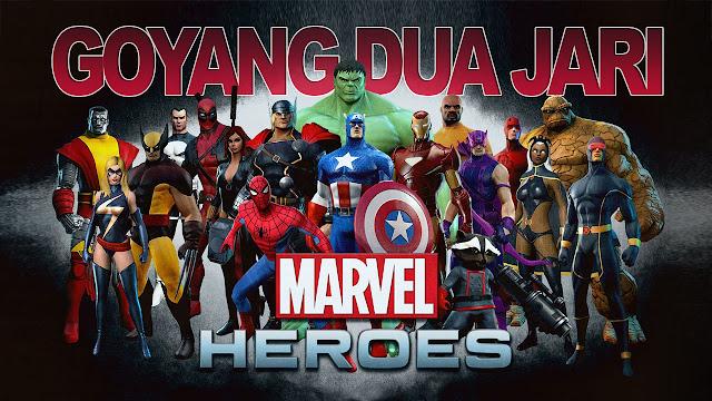 LIRIK GOYANG DUA JARI VERSI MARVEL HEROES | COVER PARODY