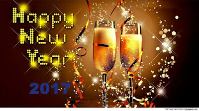 Image result for happy new year 2017champagne