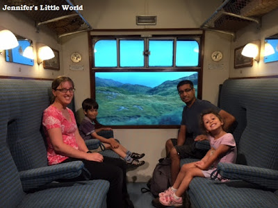 Family on the Hogwarts Express