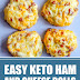 Easy Keto Ham and Cheese Rolls