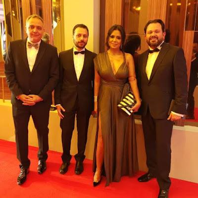 رانيا يوسف, فستان رانيا يوسف, اجرا فستان فى المهرجان,