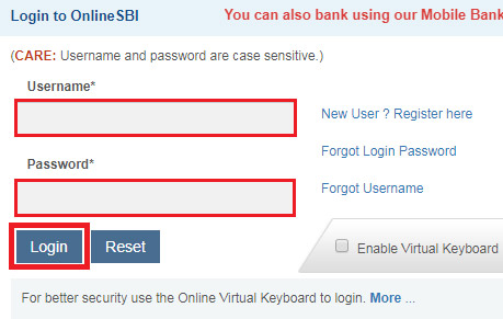 how to find cif number of sbi account online