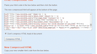 Cara Compress Kode Template Biar Loading Blog Cepat _ HTML Compression Tool