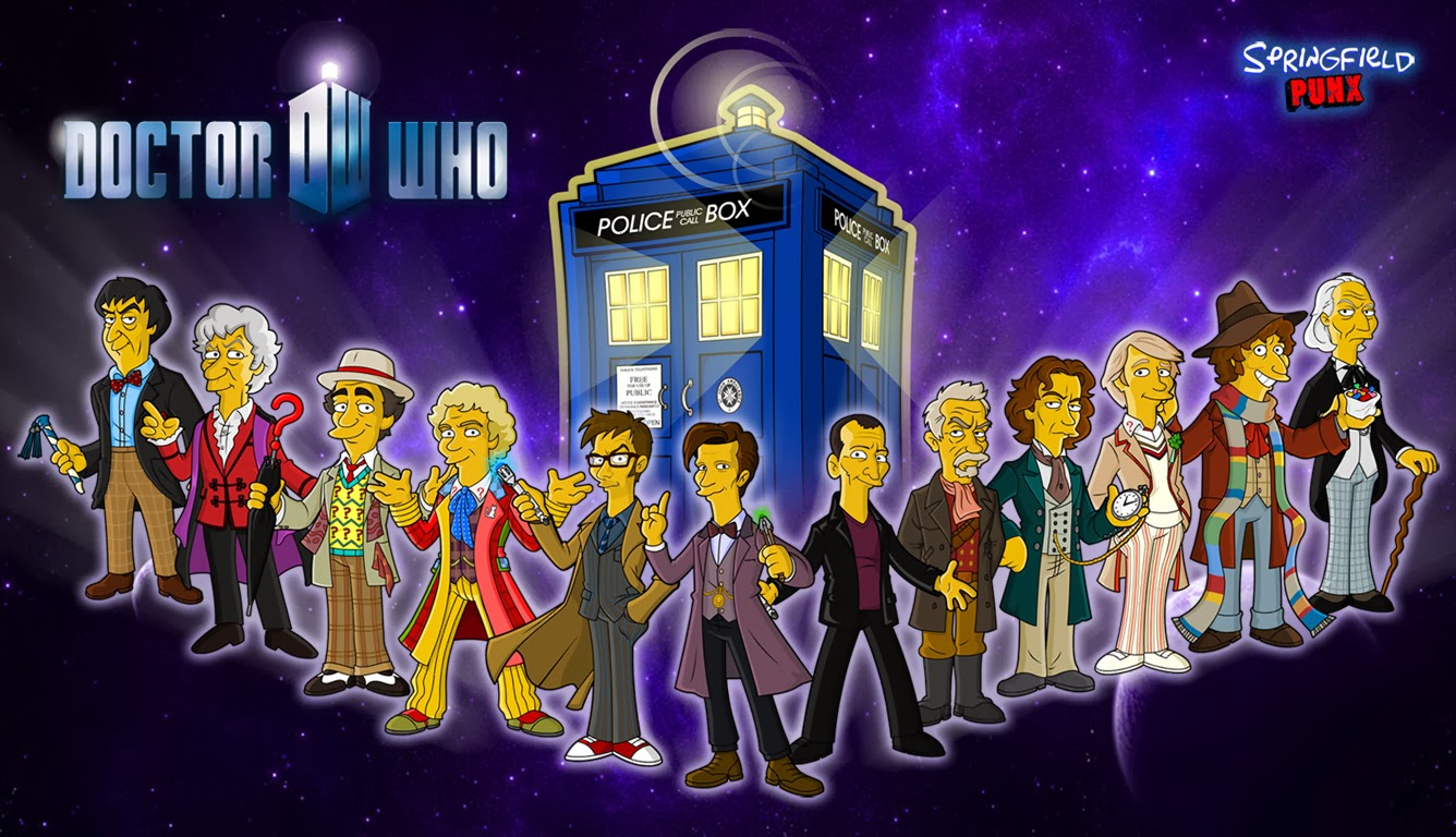 Springfield Punx: New Doctor Who Wallpaper!