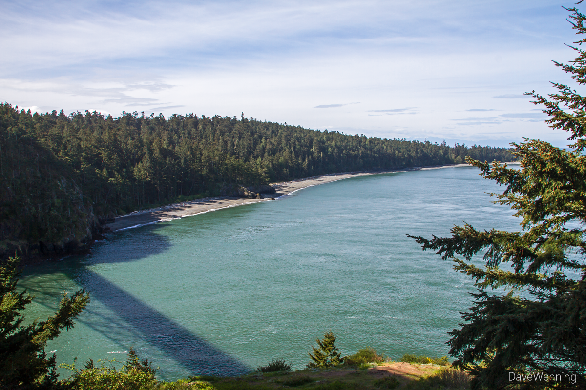 North Beach on Whidbey Island, Deception Pass