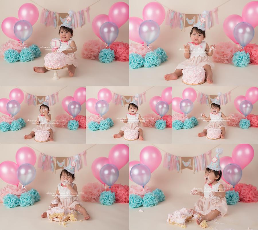 eugene, oregon baby one year photography
