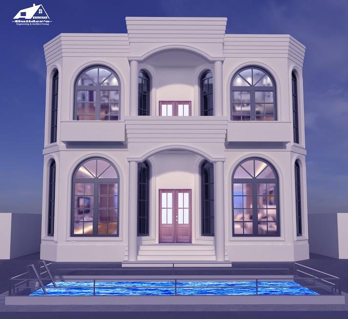 Duplex Villa 3d Visualization