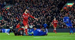 ملخص ونتيجة واهداف مباراة ليفربول وليستر سيتي 1-1 الدوري الانجليزي اليوم 30/1/2019 Liverpool vs Leicester