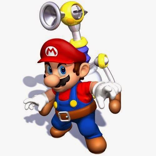 Super Sunshine Game Flash Mario