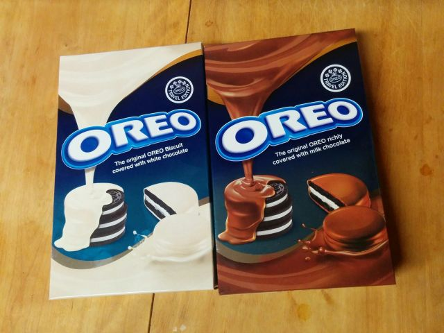 Review: White Chocolate and Chocolate Travel Edition Oreo Cookies ...