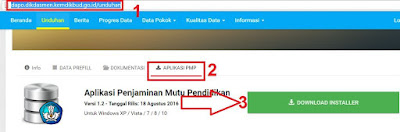 gambar download installer aplikasi PMP dapodik