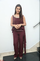 Nikki Galrani in a Brown Shining Sleeveless Gown at Nakshatram music launch ~  Exclusive 103.JPG
