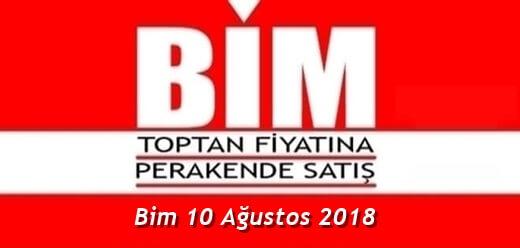 Bim 10 Ağustos 2018 Aktüel Ürünler Kataloğu