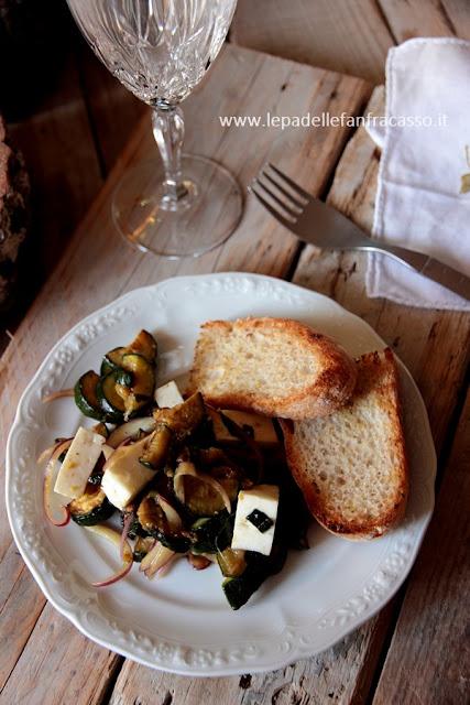 ricetta zucchine all'aceto