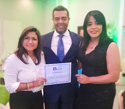 Massiel Almonte, Elisaben Matos y Margarita Montero.