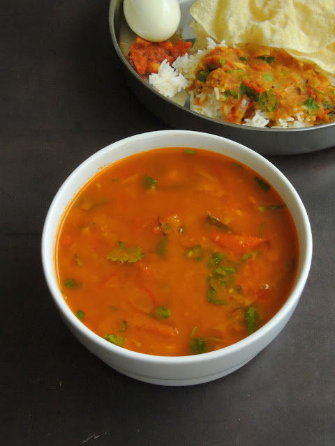 Vegan Moongdal with Tomato